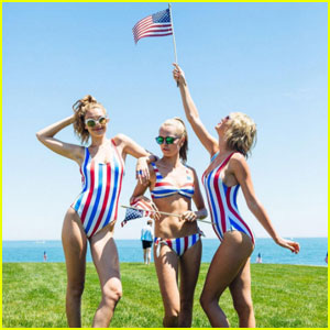 Taylor Swift & Her Squad Share Photos From Her Epic July 4th Party!