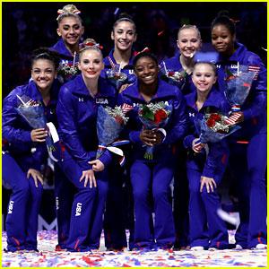 Aly Raisman, Simone Biles, & US Women's Gymnasts React to Making Olympic Team!