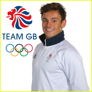 Tom Daley Poses in His Team GB Olympic Apparel!