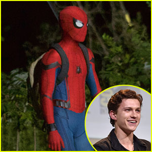 Tom Holland Dishes on 'Spider-Man' Stunts