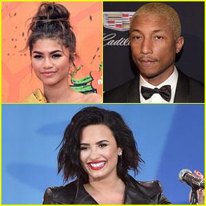 Zendaya & Demi Lovato Favorite Tweets in Support of Kim Kardashian & Kanye West