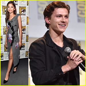 Zendaya Makes First Appearance at Comic-Con with 'Spider-Man