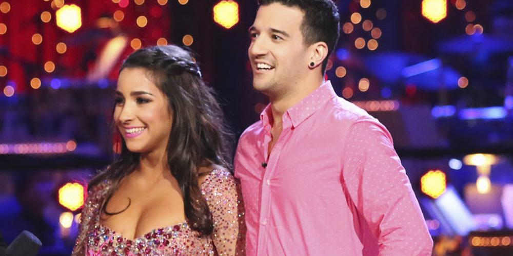 Mark Ballas Amp Dwts Send Congrats To Aly Raisman After Her