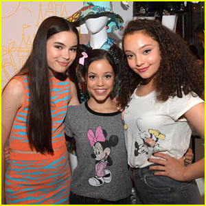 Jenna Ortega, Landry Bender & Kayla Maisonet Step Out For Destination Disney Style Launch
