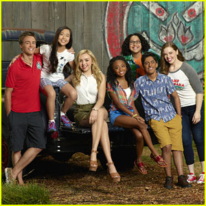 Skai Jackson, Peyton List & Miranda May Debut 'Bunk'D' Season Two Pics!
