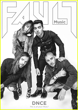 DNCE Dish About The Band with 'Fault' Magazine Before Playing V Festival 2016