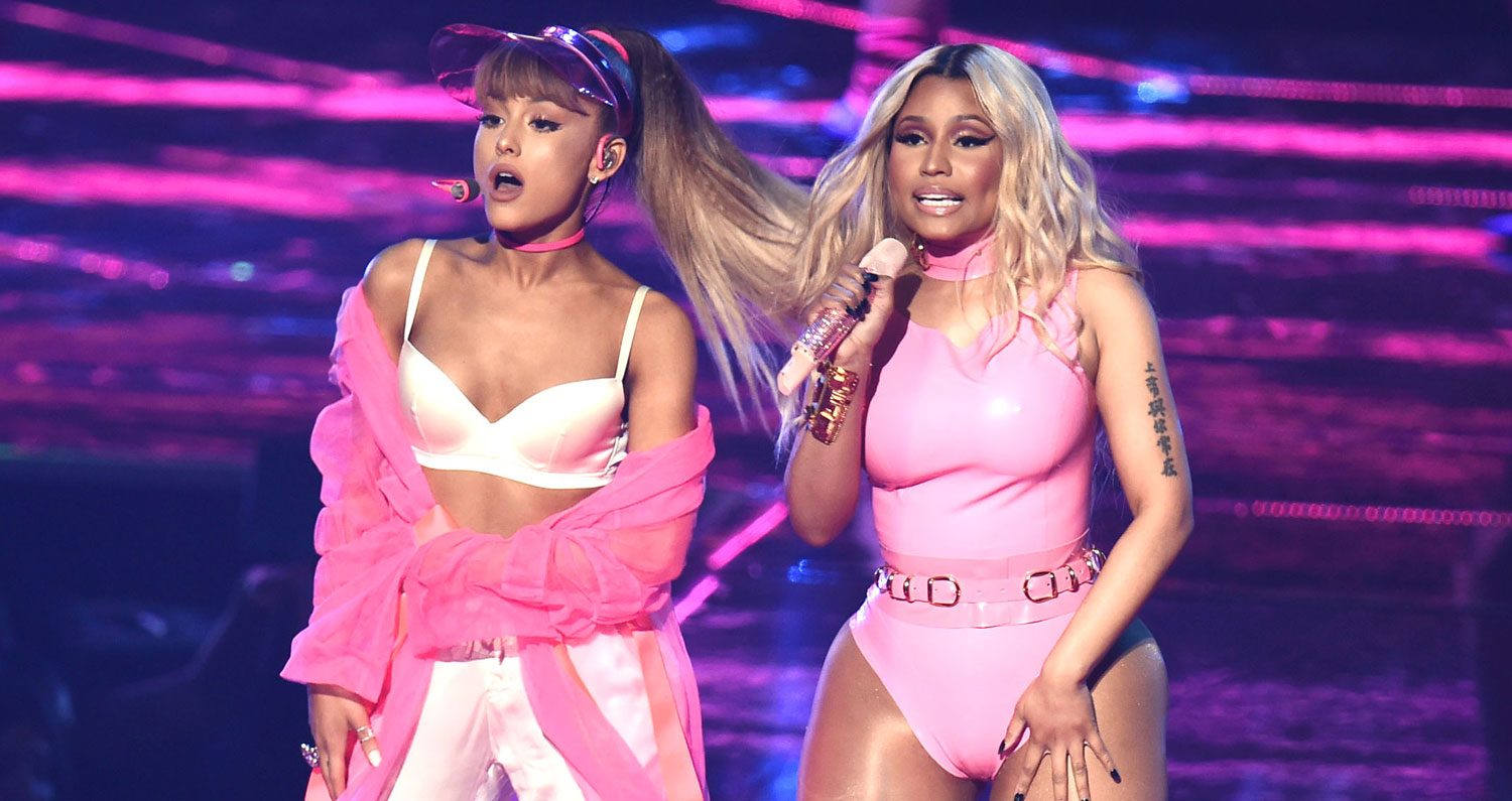 Ariana Grande Performs Side To Side At Mtv Vmas 2016