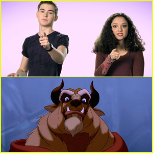 Gus Kamp & Kayla Maisonet Lay Down Fun Facts About The Beast in 'Beauty & The Beast' Bonus Feature