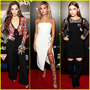 Hailee Steinfeld, Hailey Baldwin & Holland Roden Celebrate At Republic Records MTV VMAs After Party!