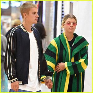 Justin Bieber & Sofia Richie Hold Hands in Tokyo