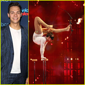 Steven Brundage Plays More Rubik's Tricks; Sofie Dossi Shoots Flaming Arrows on 'America's Got Talent' - Watch Now!