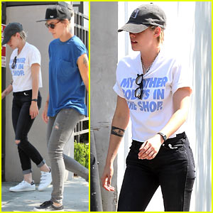 Kristen Stewart & Alicia Cargile Grab Lunch Together in WeHo