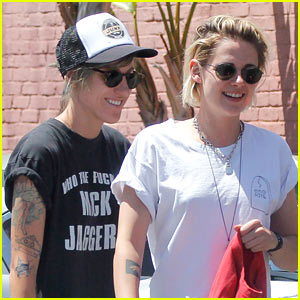 Kristen Stewart Grabs Lunch With Girlfriend Alicia Cargile