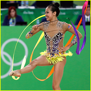 Rhythmic Gymnast Laura Zeng Places 11th; The Highest Ever For Team USA