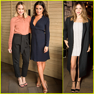 Lea Michele & Becca Tobin Have a Girl's Night Out at AYR's VIP Dinner