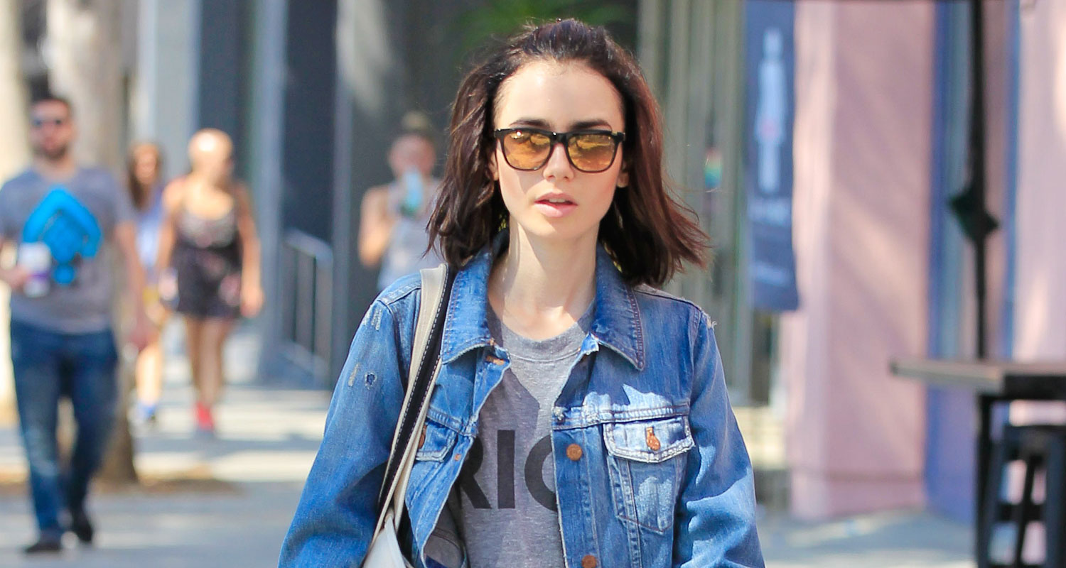 Lily Collins Shows How...