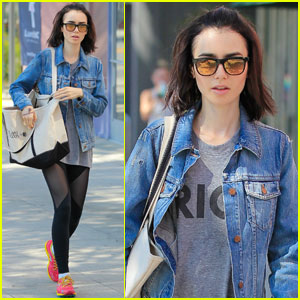 Lily Collins Shows How She's Living Live 'Unfiltered'