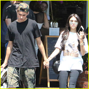 Madison Beer Shops With Jack Gilinsky Before Lunch With Family in LA