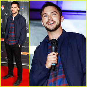 Nicholas Hoult Premieres 'Collide' In Germany!