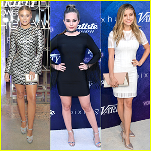 Olivia Holt, Brec Bassinger & G Hannelius Honor Peers At Variety's Power of Young Hollywood Event