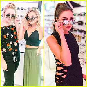 Olivia Holt & Harley Quinn Smith Step Out For Perverse Sunglasses Store Opening