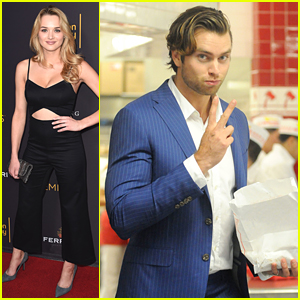 Pierson Fode Stops at In-N-Out Ahead of Daytime TV's Emmy Celebration