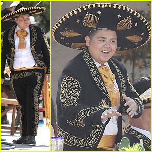 Rico Rodriguez Dresses As Marachi For 'Modern Family'