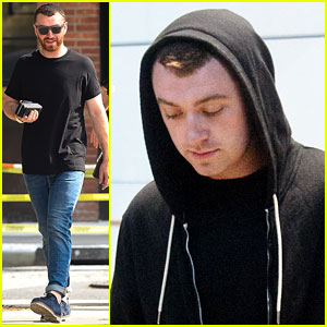 Sam Smith Is Back in London After New York City Trip