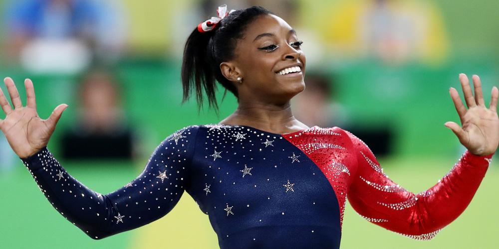 Simone Biles Tops Floor Routine Leaderboard At Rio