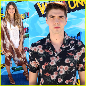 Sofia Reyes & Johann Vera Bring Music to Just Jared's Summer Bash Presented by Uno