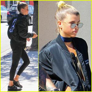 Sofia Richie Makes a Starbucks Stops Amid Justin Bieber Rumors