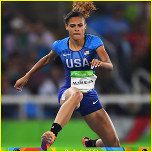 Track Star Sydney McLaughlin Qualifies for Women's 400m Hurdles Semifinals in Rio