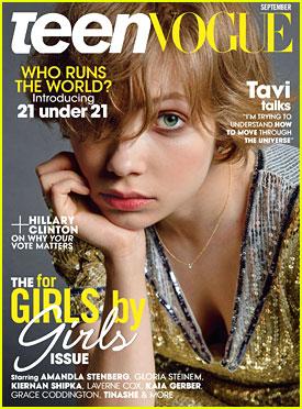 Tavi Gevinson Covers 'Teen Vogue' September 2016
