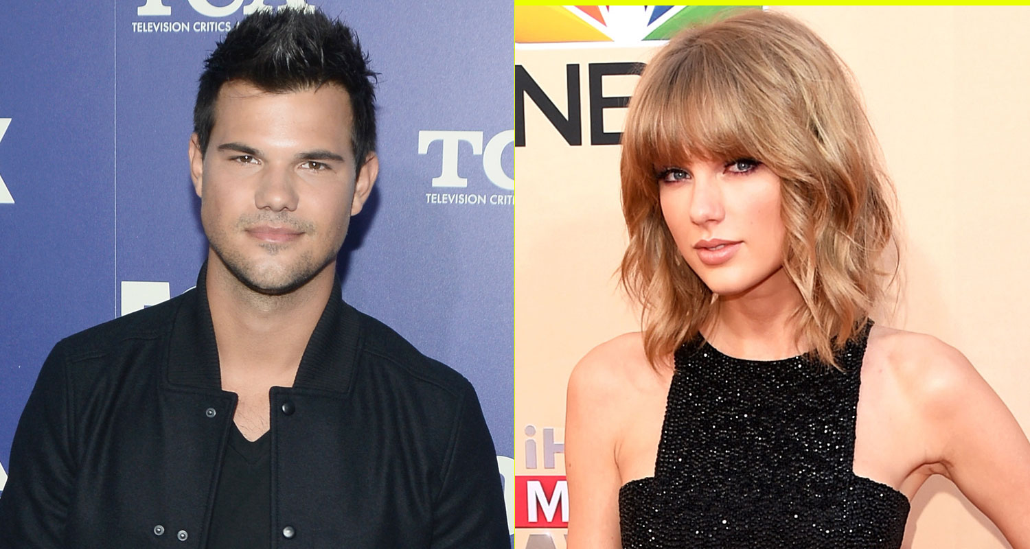 Taylor Lautner Spills On His Relationship With Taylor Swift John Stamos Lea Michele Taylor Lautner Taylor Swift Just Jared Jr