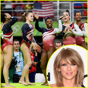 Taylor Swift Is So Proud of the US Women's Gymnastics Team!