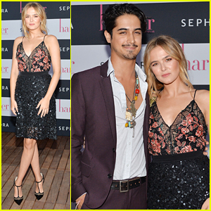 Avan Jogia Supports Zoey Deutch at Harper by Harper's Bazaar Party