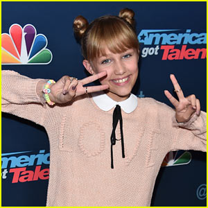 Grace VanderWaal Signs with Columbia Records After Winning 'AGT'!