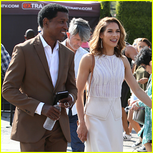 Allison Holker & Babyface Stop by 'Extra' After Surviving First DWTS Elimination