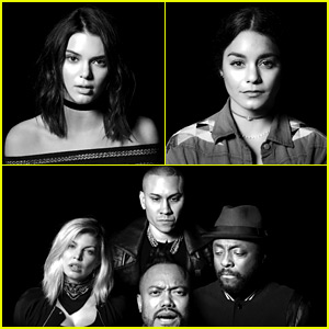 Kendall Jenner, Vanessa Hudgens, & More Star in 'Where Is the Love?' Remake Video