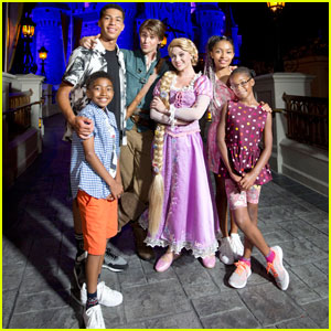 Yara Shahidi & Marcus Scribner Film 'Black-ish' Episode at Disney World