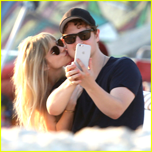 Carlson Young & Isom Innis Spend Some Time on The Beach in Rio