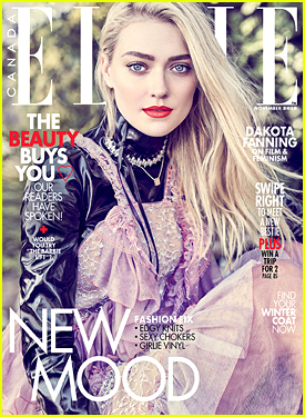 Dakota Fanning Tells 'Elle Canada' She's Scared Of Doing Live Theatre