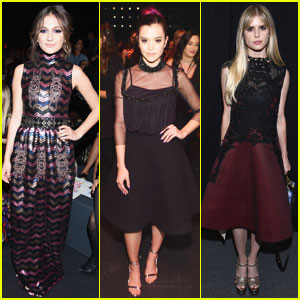 Daya & Megan Nicole Attend Star-Studded Vivienne Tam Presentation