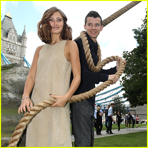 Asa Butterfield & Ella Purnell Promo 'Miss Peregrine's Home For Peculiar Children' In London