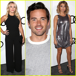 Emily Osment & Ian Harding Step Out For Audi's Emmy Celebration