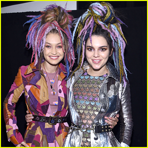 Gigi Hadid & Kendall Jenner Rule The 'Marc Jacobs' Runway During NYFW