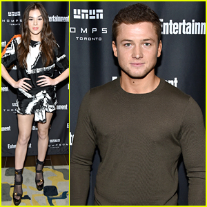 Hailee Steinfeld Hits EW's Must List Party During TIFF with Taron Egerton