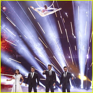 Il Volo Get Sofie Dossi & Laura Bretan Involved In 'Nessum Dorma' Performance on 'America's Got Talent' - Watch Now!