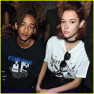 Jaden Smith & Sarah Snyder Sit Front Row at Hood by Air NYFW Presentation