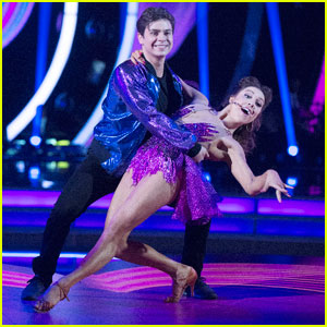 Jake T. Austin & Jenna Johnson Jive It Up to One Direction - 'DWTS' Photos!